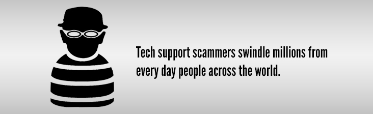 Scammers swindle millions from people every day.