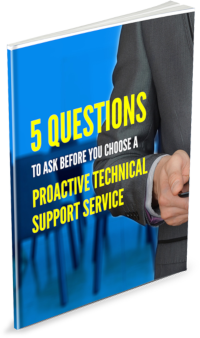 5 Questions To Ask Before Choose Proactive echnical Support Service eBook