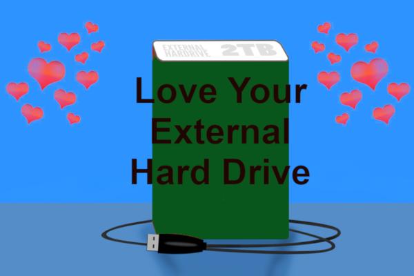 External drive care