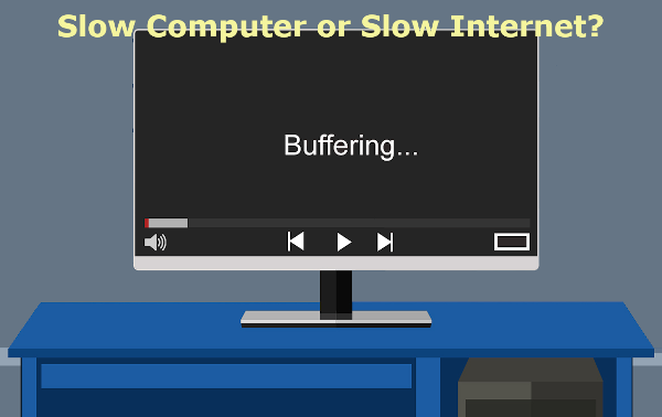 Slow Computer or Internet?