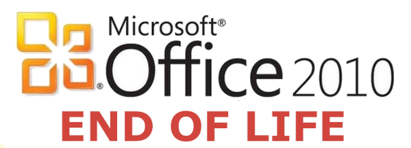 MS Office 2010 End Of Life